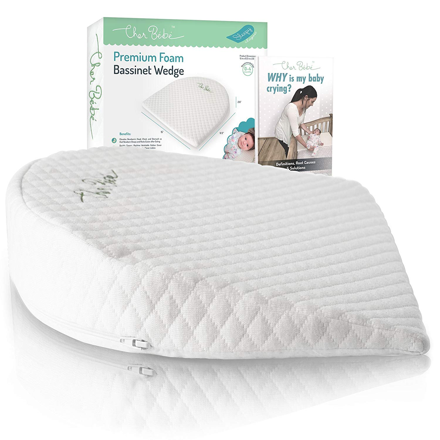 Bed Pillows Hiccapop Foldable Safe Lift Universal Crib Wedge For Baby Mattress And Sleep Ideal Gift For All Occasions Baby